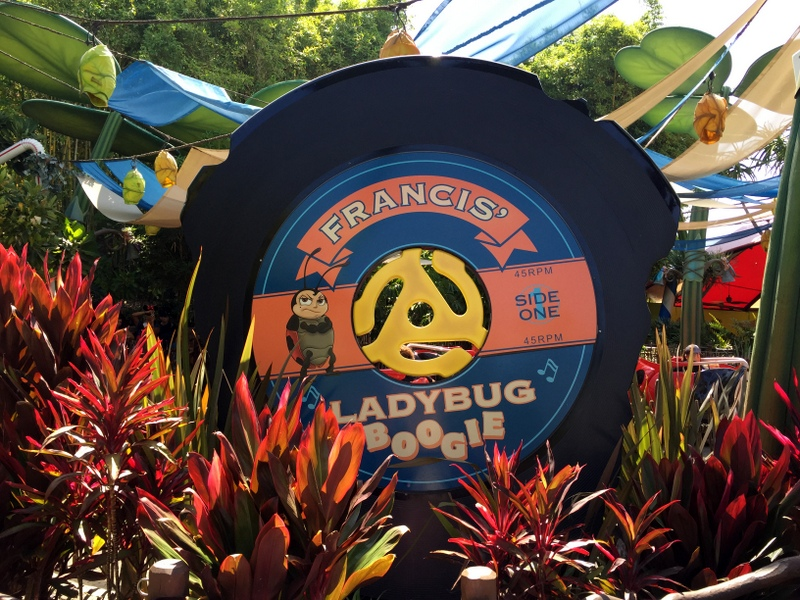 Ladybug Boogie Ride is a fun California Adventure ride for toddlers