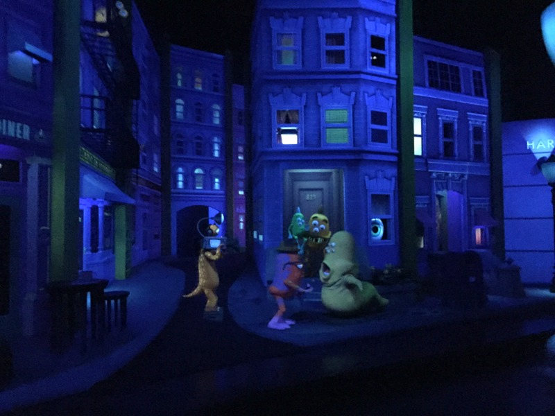 California Adventure Rides for Toddlers - Monsters Inc is a must do!