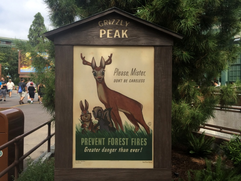 Grizzly Peak, the new look for Soaring Over California, at California Adventure - California Adventure Rides for Toddlers