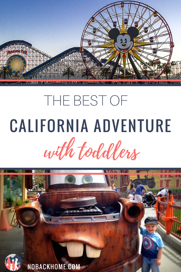 The best of California Adventure rides for toddlers - what to do to keep everyone happy!
