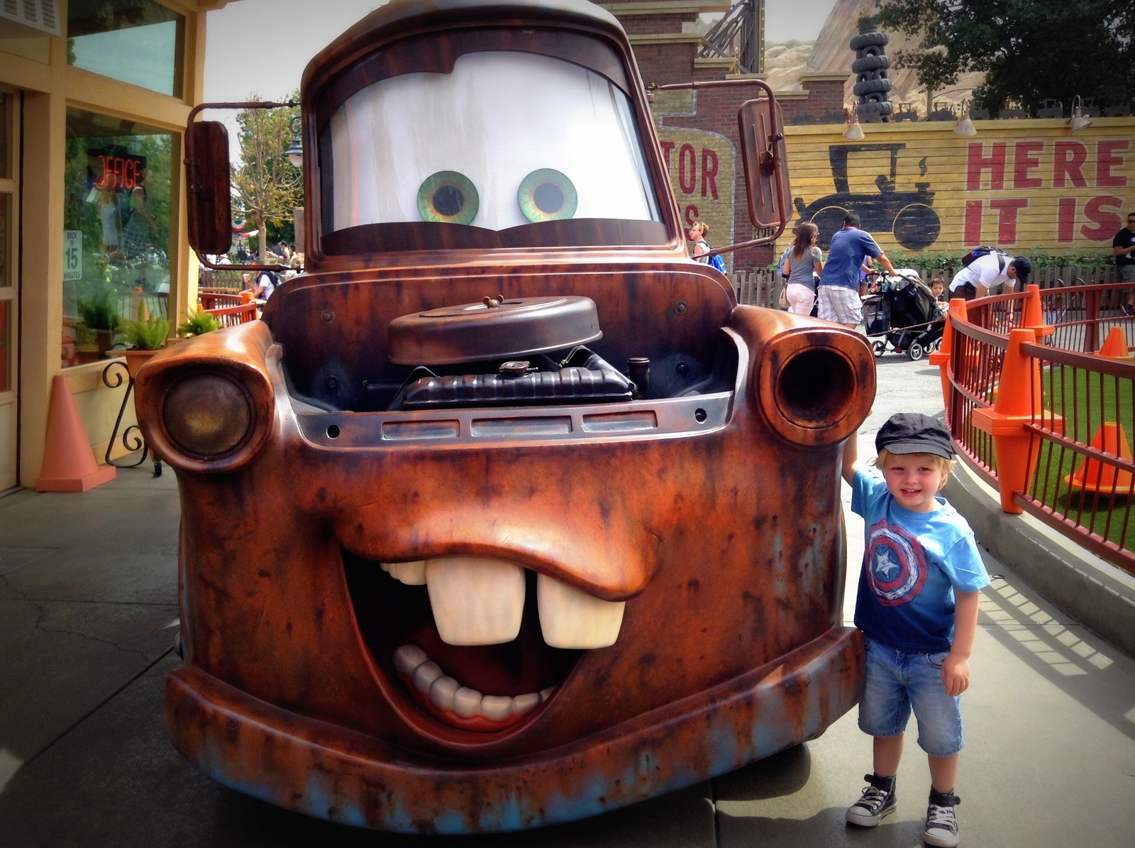 Which Disneyland park do we go to with toddlers - California Adventure!