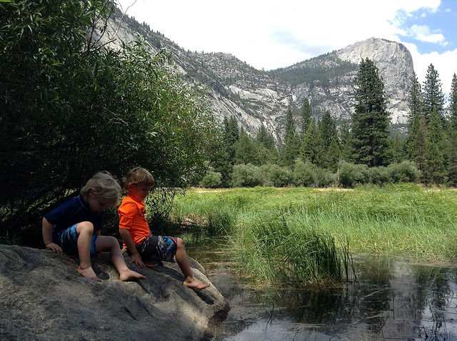 Exploring Yosemite with kids