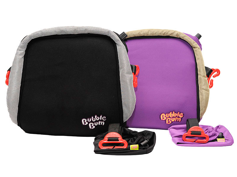 Ultimate Holiday Gift Guide for Traveling Families - Bubble Bum Booster seat