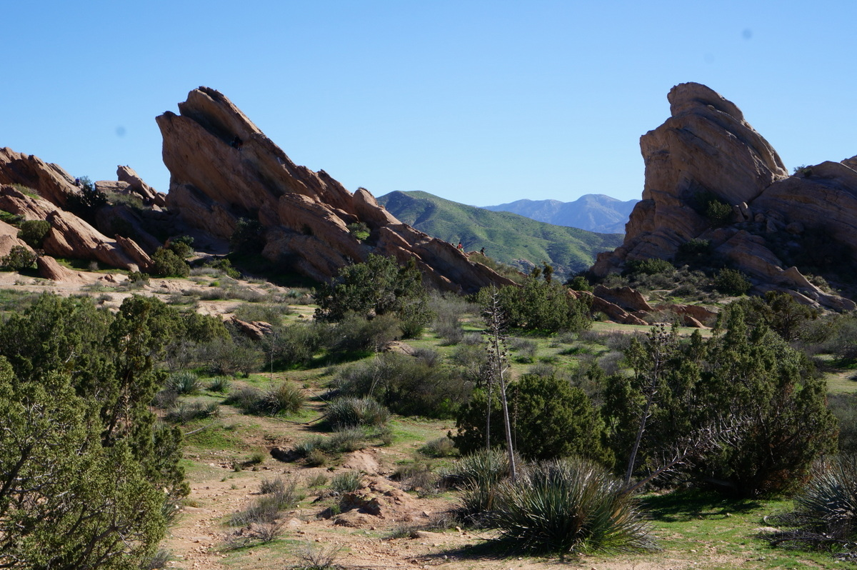 Vasquez Rocks With Kids