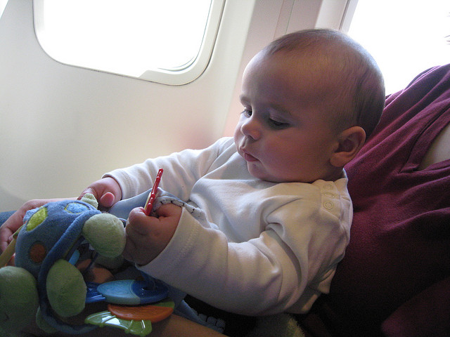 Your Questions Answered About Your Baby's First Flight