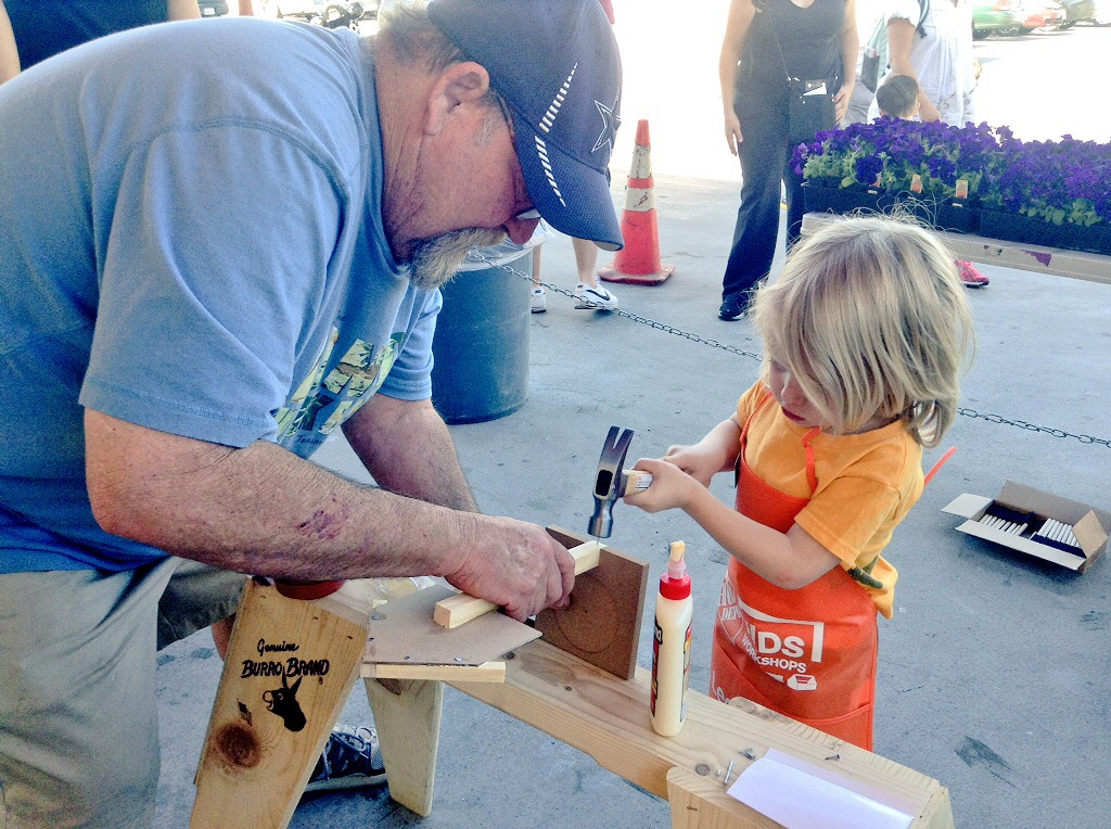 Kids Workshop At Home Depot