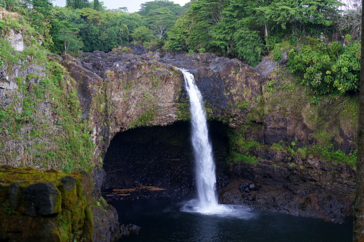 Rainbow Falls, Hawaii's Big Island