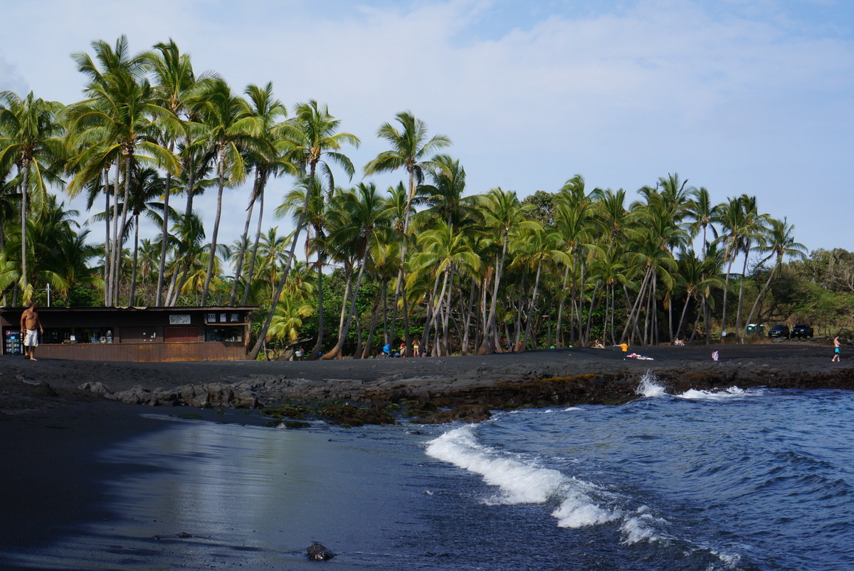 Black Sand Beach, Hawaii's Big Island