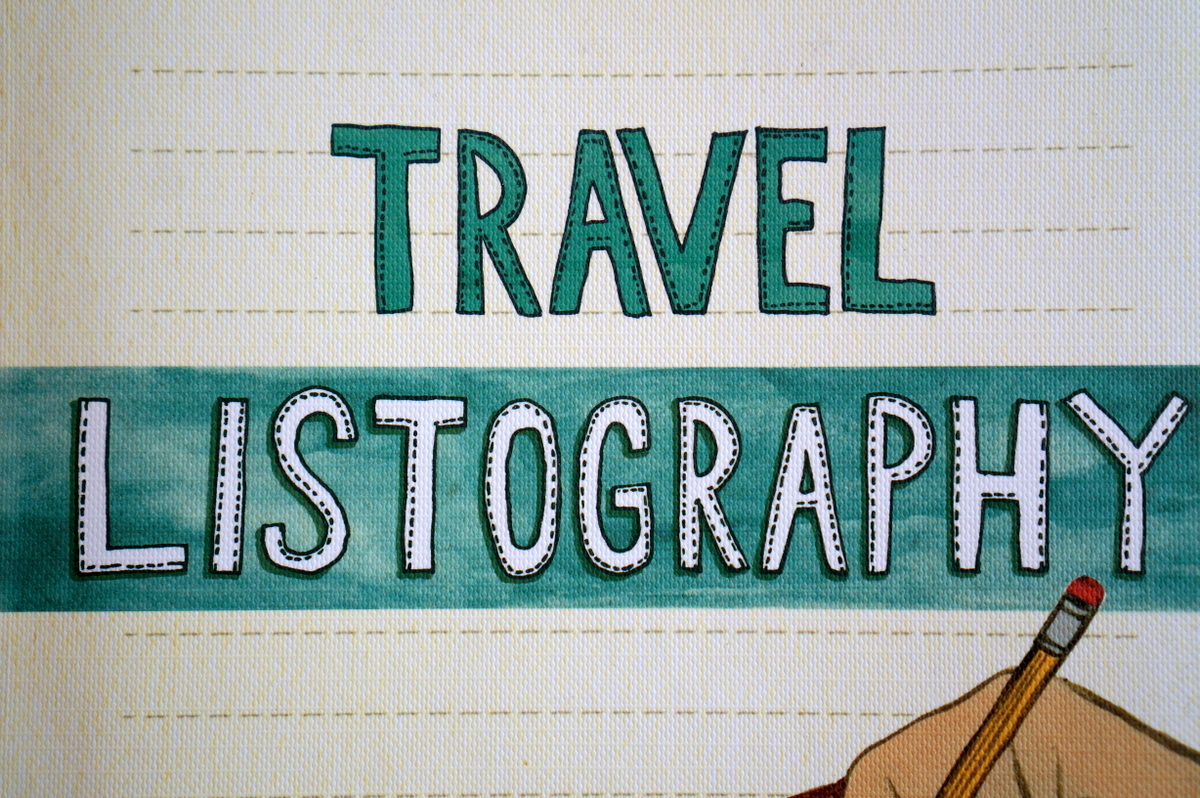 Exploring The World In Lists: Travel Listography Giveaway