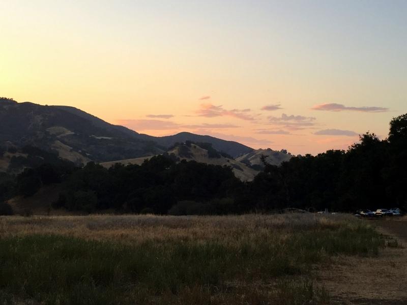 Camping at Malibu Creek State Park