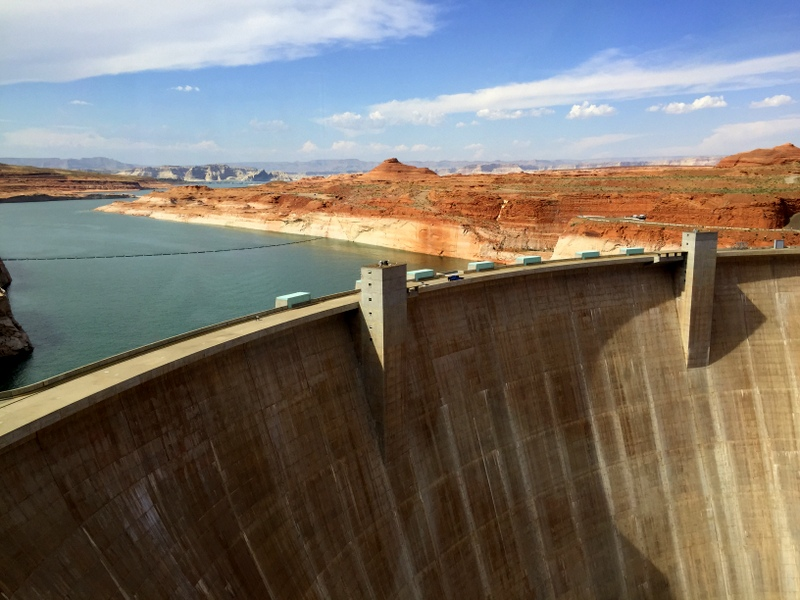 Glen Canyon Dam is an often missed top thing to do in Page AZ