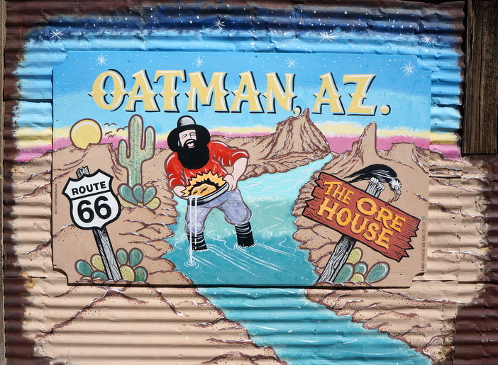 Oatman Arizona, Route 66 - one of the best stops on Route 66 Los Angeles to Grand Canyon