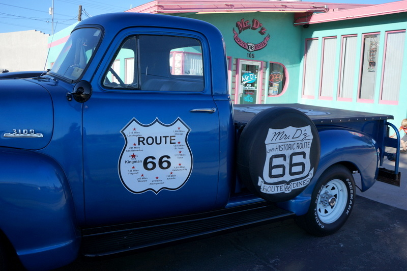 Mr. D'z Route 66 Diner, Kingman AZ - A top Stop on Route 66 Los Angeles to Grand Canyon That You MUST Visit