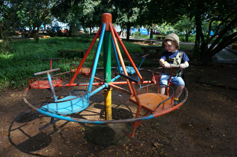 Playground in Fort Cochin, Places to Visit in Kerala with Kids