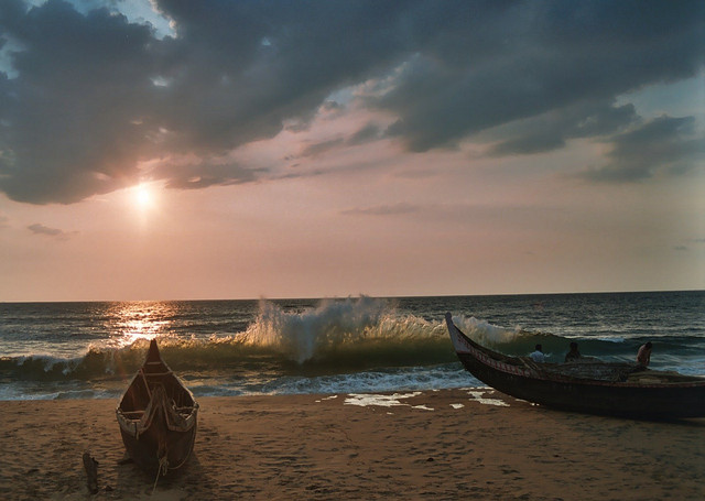 Kovalam Beach - Places to Visit in Kerala with Kids