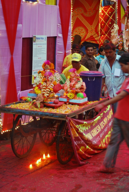 Celebrating Ganesh in Mumbai