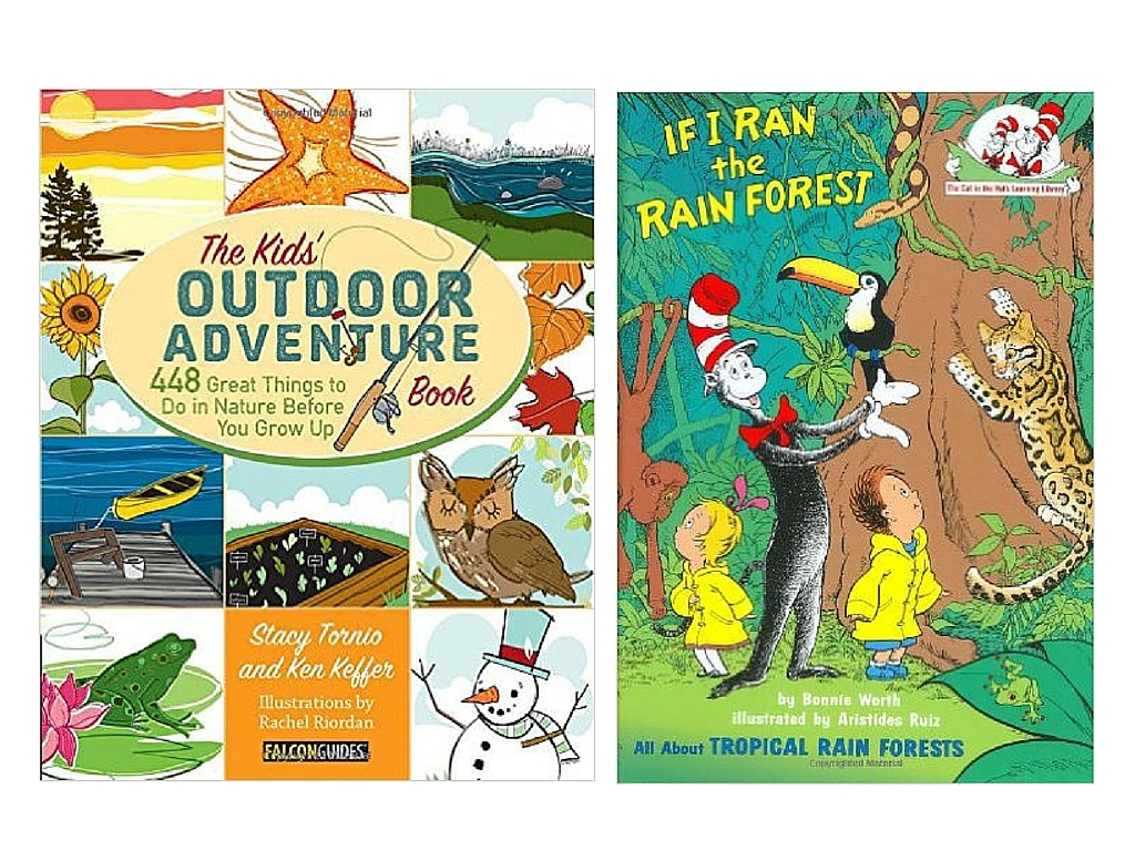 Books for kids - Gift Guide for Outdoor Kids