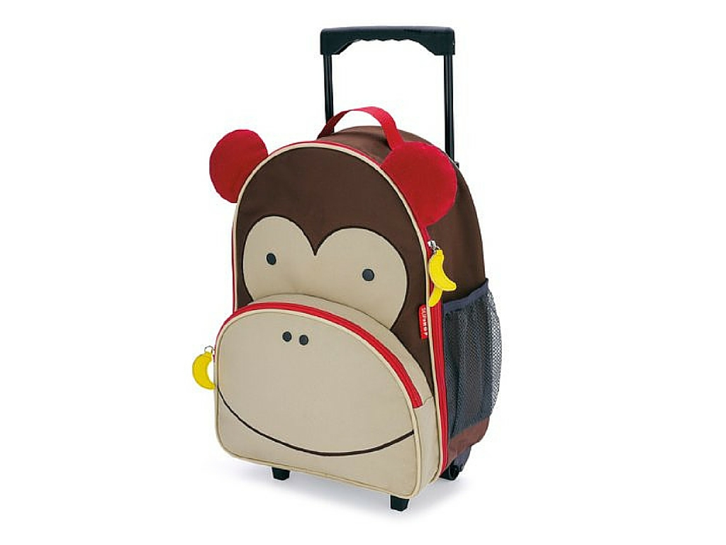 Ultimate Holiday Gift Guide for Traveling Families - Skip Hop Rolling Luggage