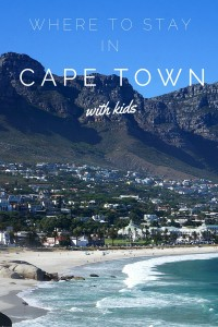 Heading to Cape Town and can't decide where to stay? Check out our recommendations for 4 great family friendly areas