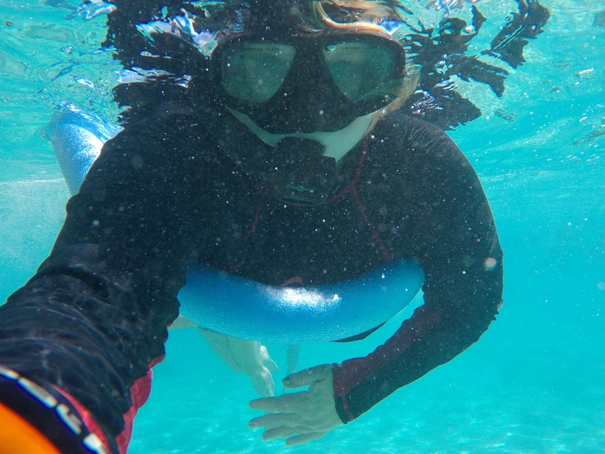 Snorkeling is one of the best things to do in the cook islands
