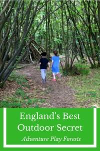 England's best kept outdoor secret - Adventure Play Forests!