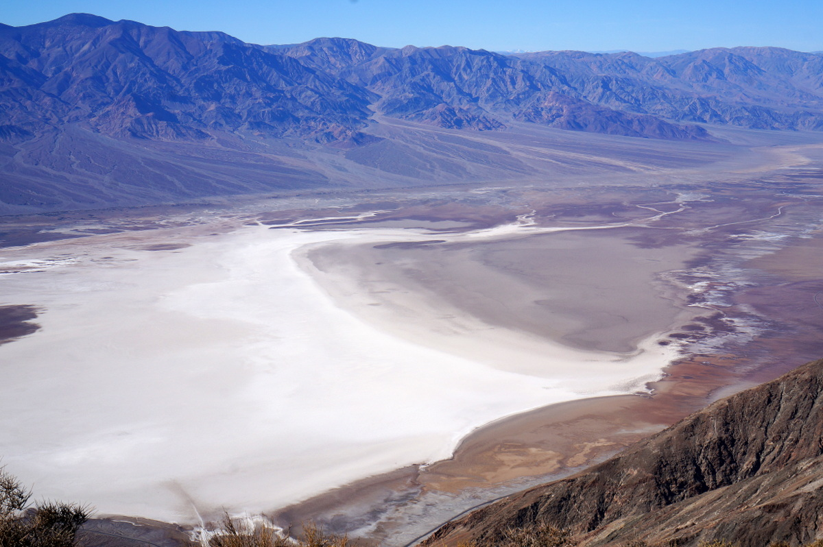 Death Valley Overlook - Year 2016 Summary