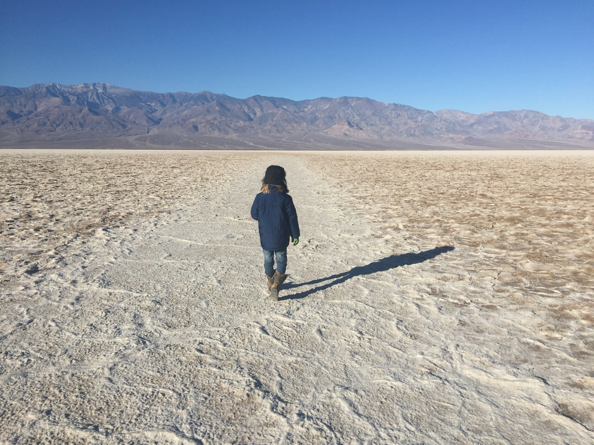 What to do in Death Valley with Kids - Badwater Basin
