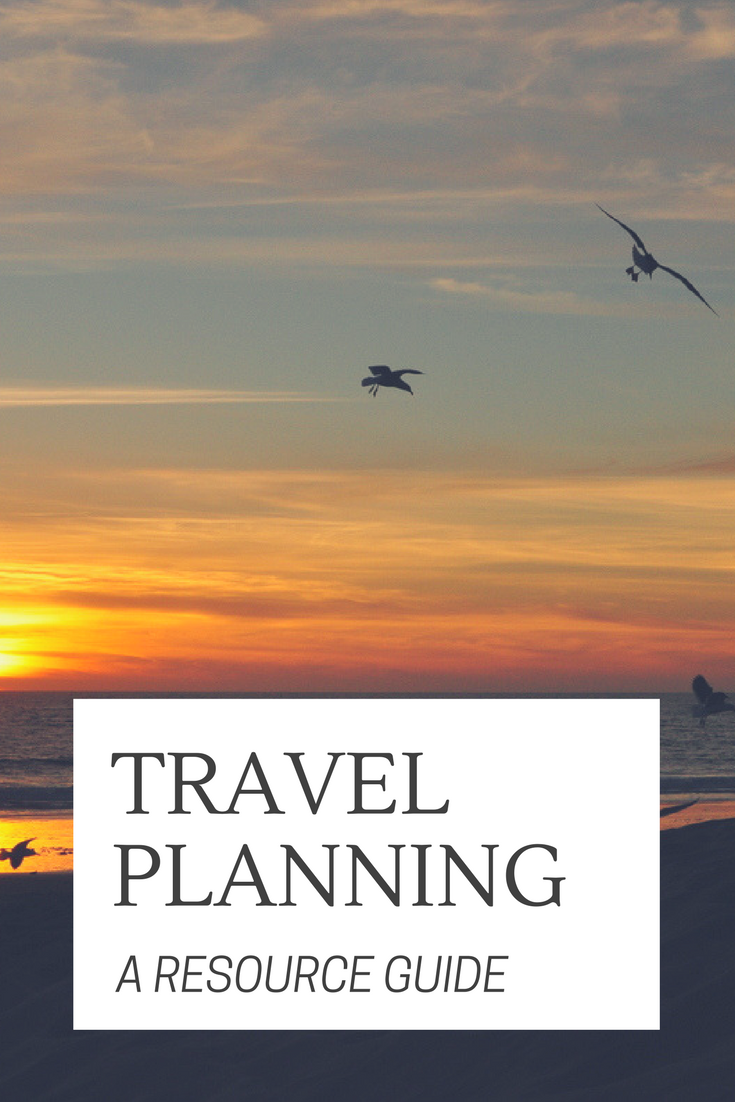 Travel Planning: A resource guide on where to book flights, accommodation and more!