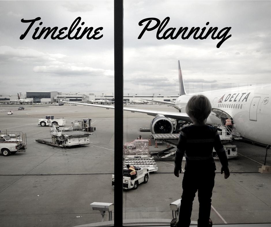 Timeline Planning: Checklists for Travel