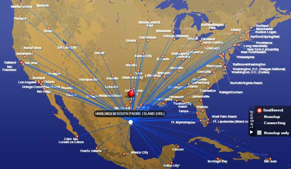 Flying Southwest Airlines International