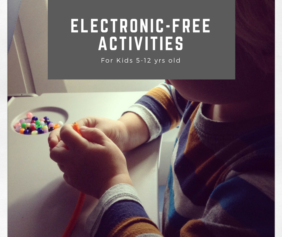 10 Electronic Free Activities For Kids 5-12