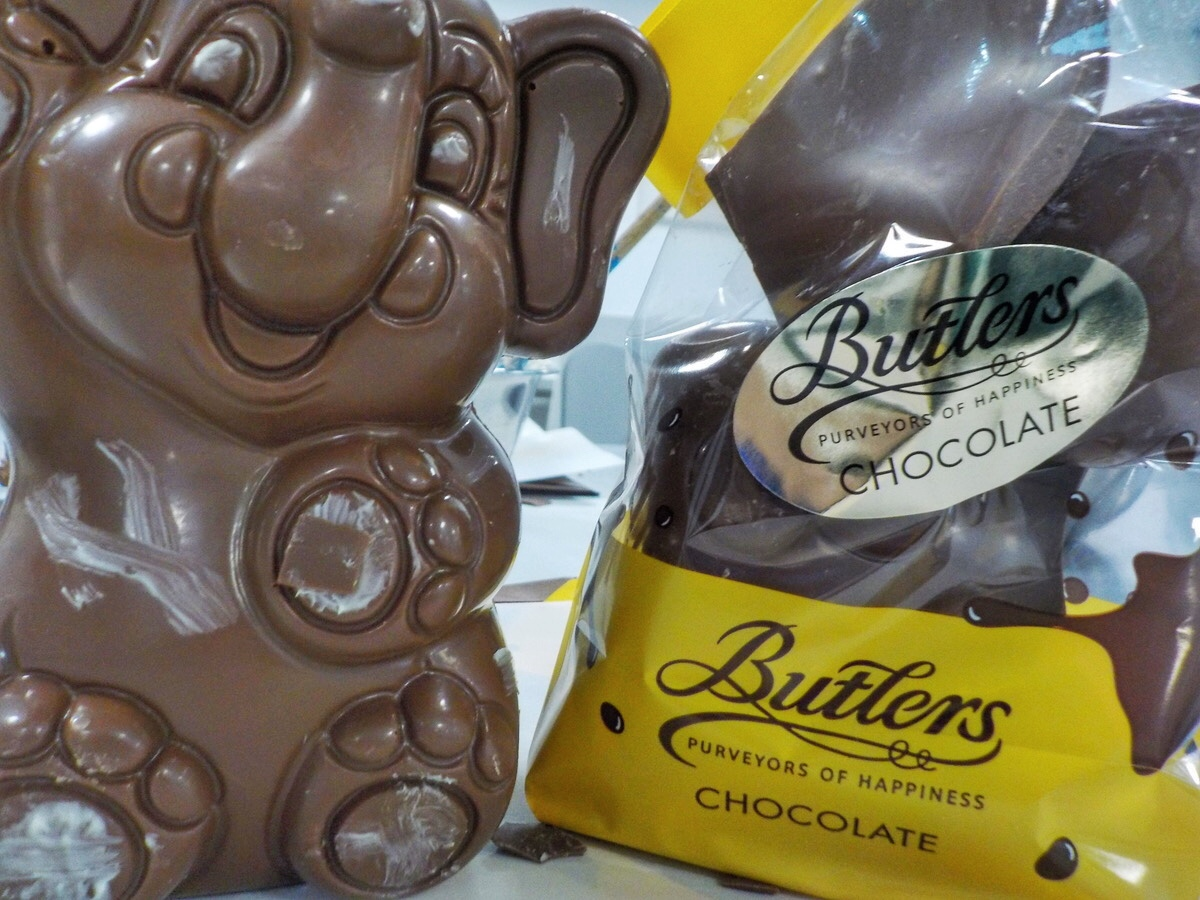Butlers Chocolates Factory tour is one of the top things to do in Dublin with Kids
