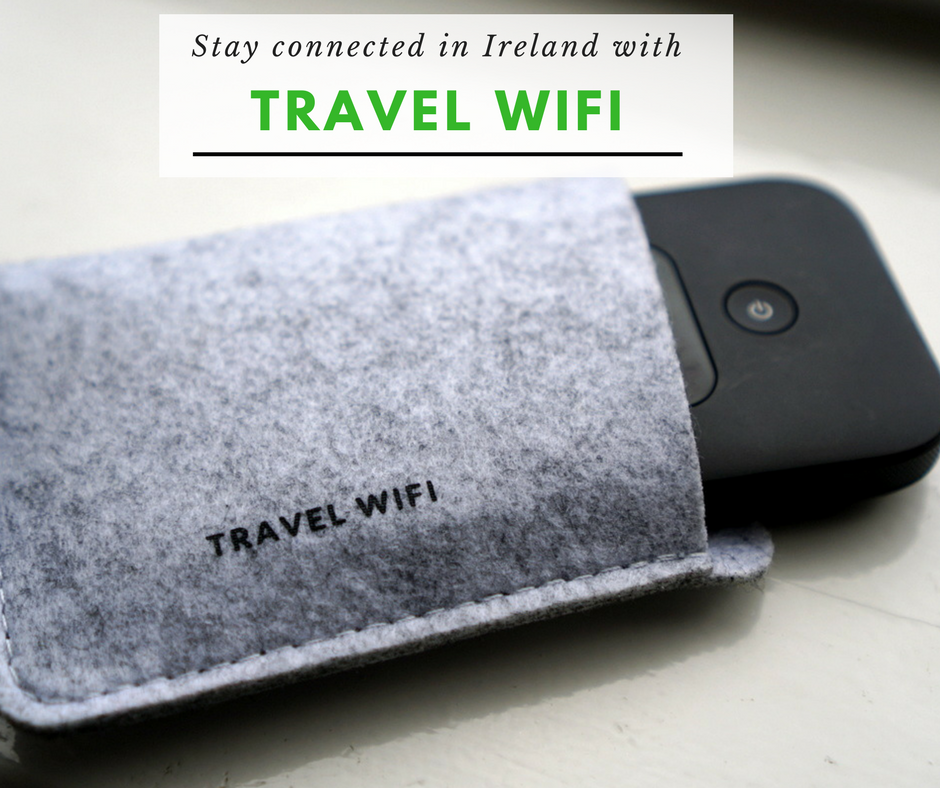 Stay Connected in Ireland with Pocket WiFi - No Back Home