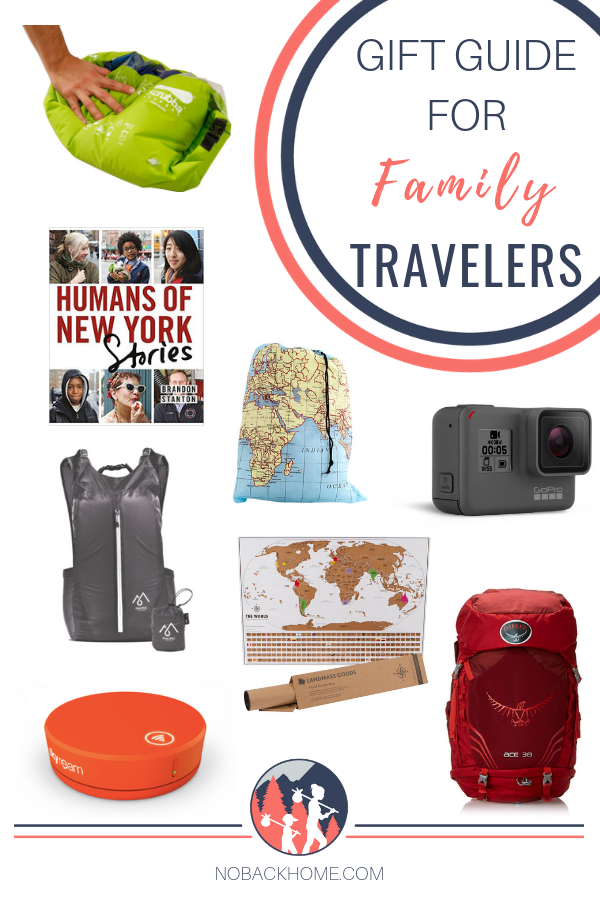 The Ultimate Gift Guide for traveling families - travel gear, clothes, miscellany and so much more!