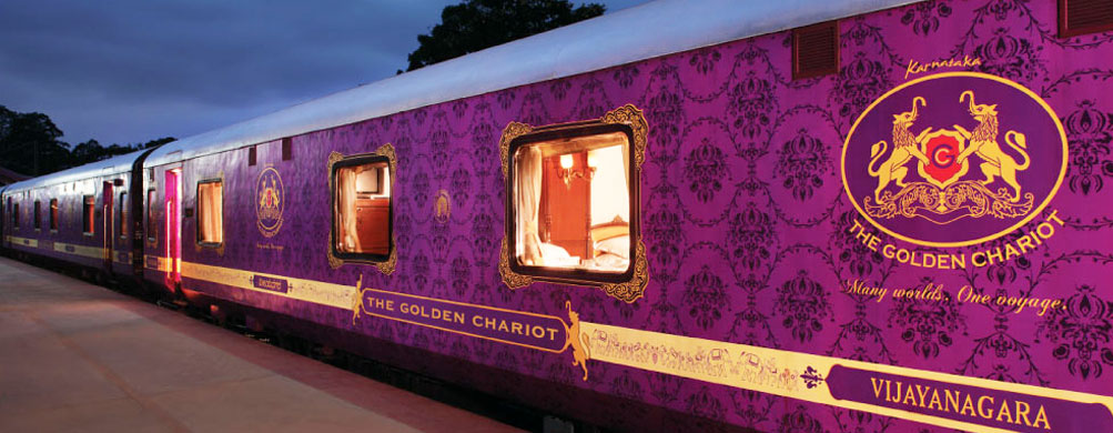 Traveling by Luxury Trains in India
