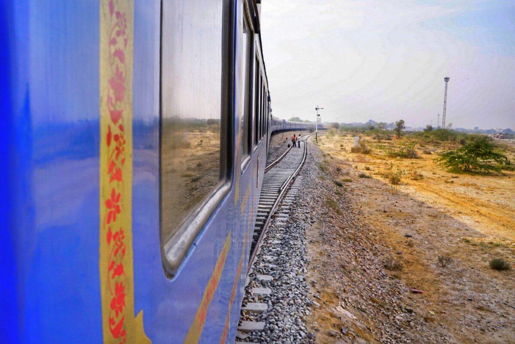 Palace on Wheels train journey through Rajasthan