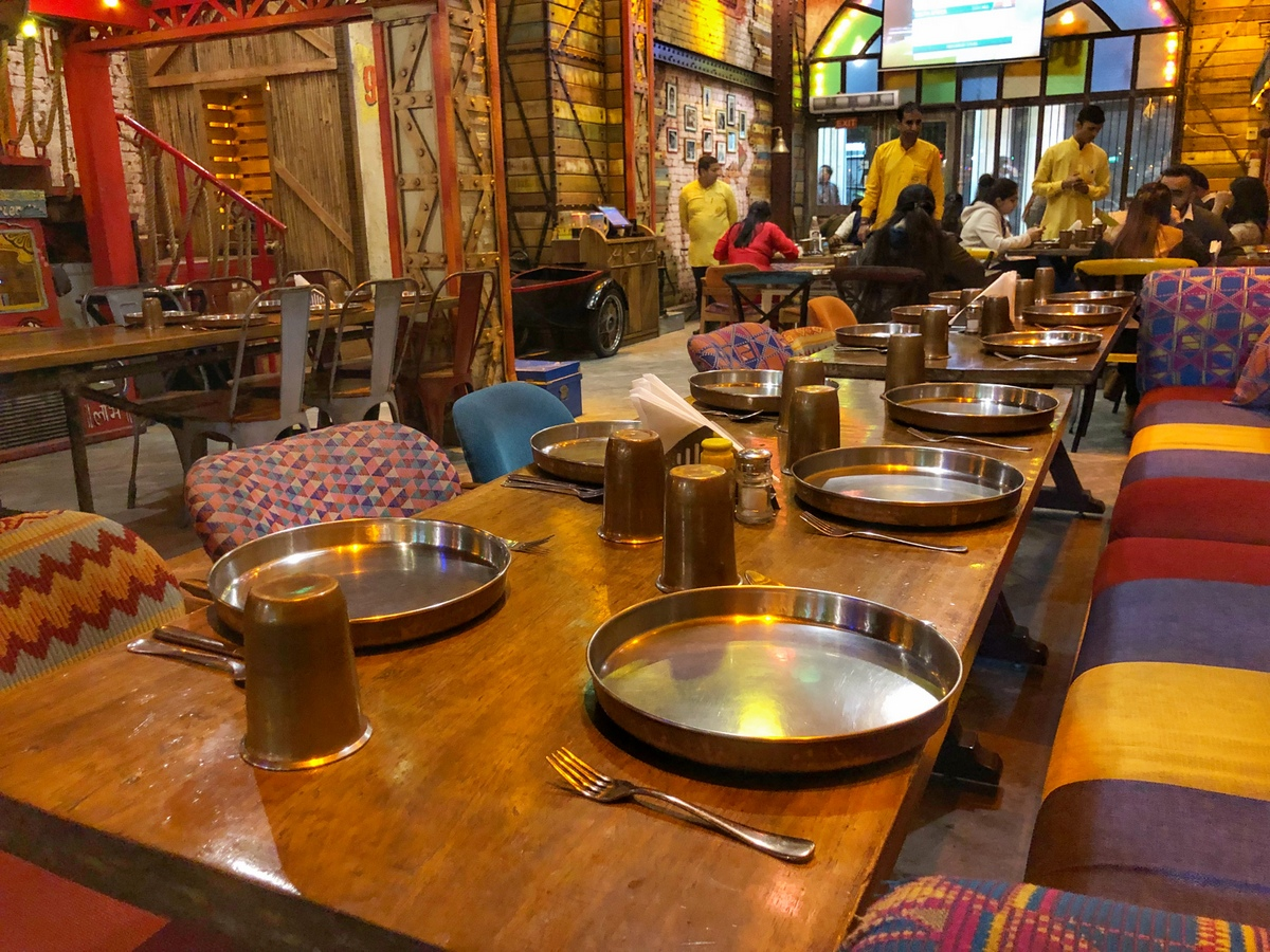 Best place to eat in Delhi - garam Dharam