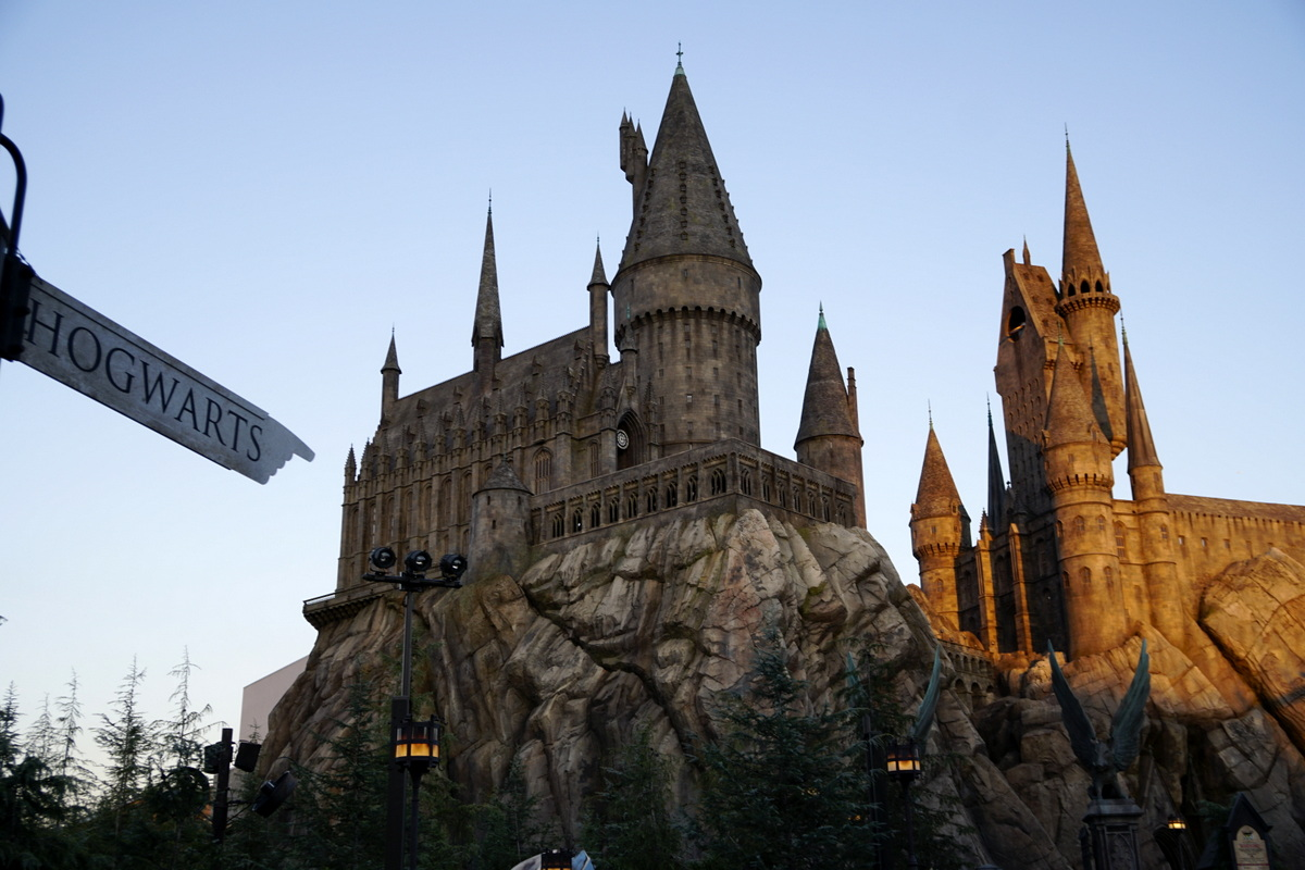 Hogwarts at the Wizarding World of Harry Potter