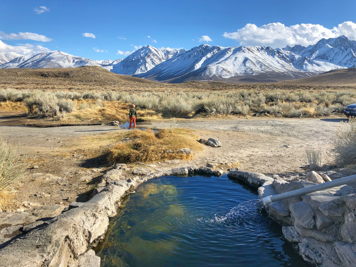 6 Epic Natural Hot Springs Near Mammoth