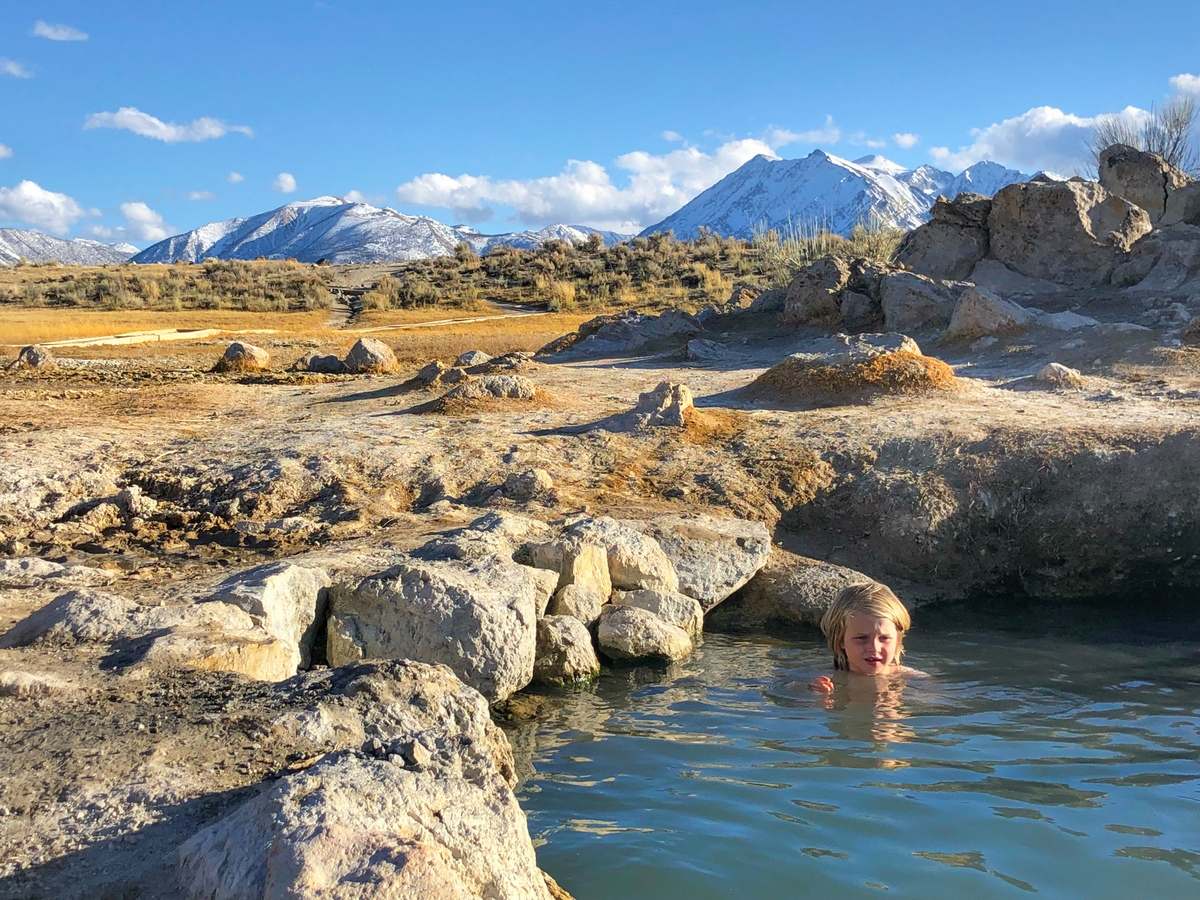 Wild Willy's Hot Springs Near Mammoth Lakes