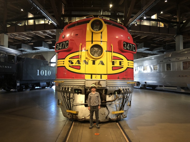 California State Railroad Museum in one of the top Sacramento Kids activities
