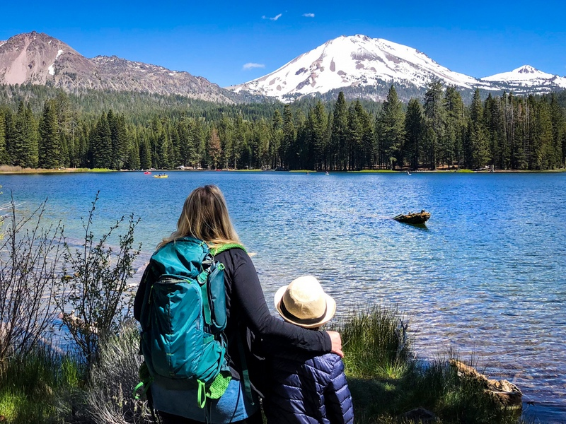 Lassen Volcanic National Park is a great day trip from Redding