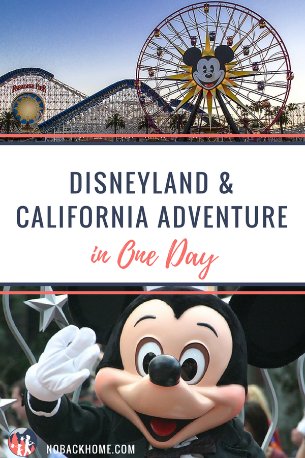 Visiting Southern California and only have time for one day at BOTH Disneyland and California Adventure? Not ideal, but it can be done. Read our guide on how to make the most of your one day visit.
