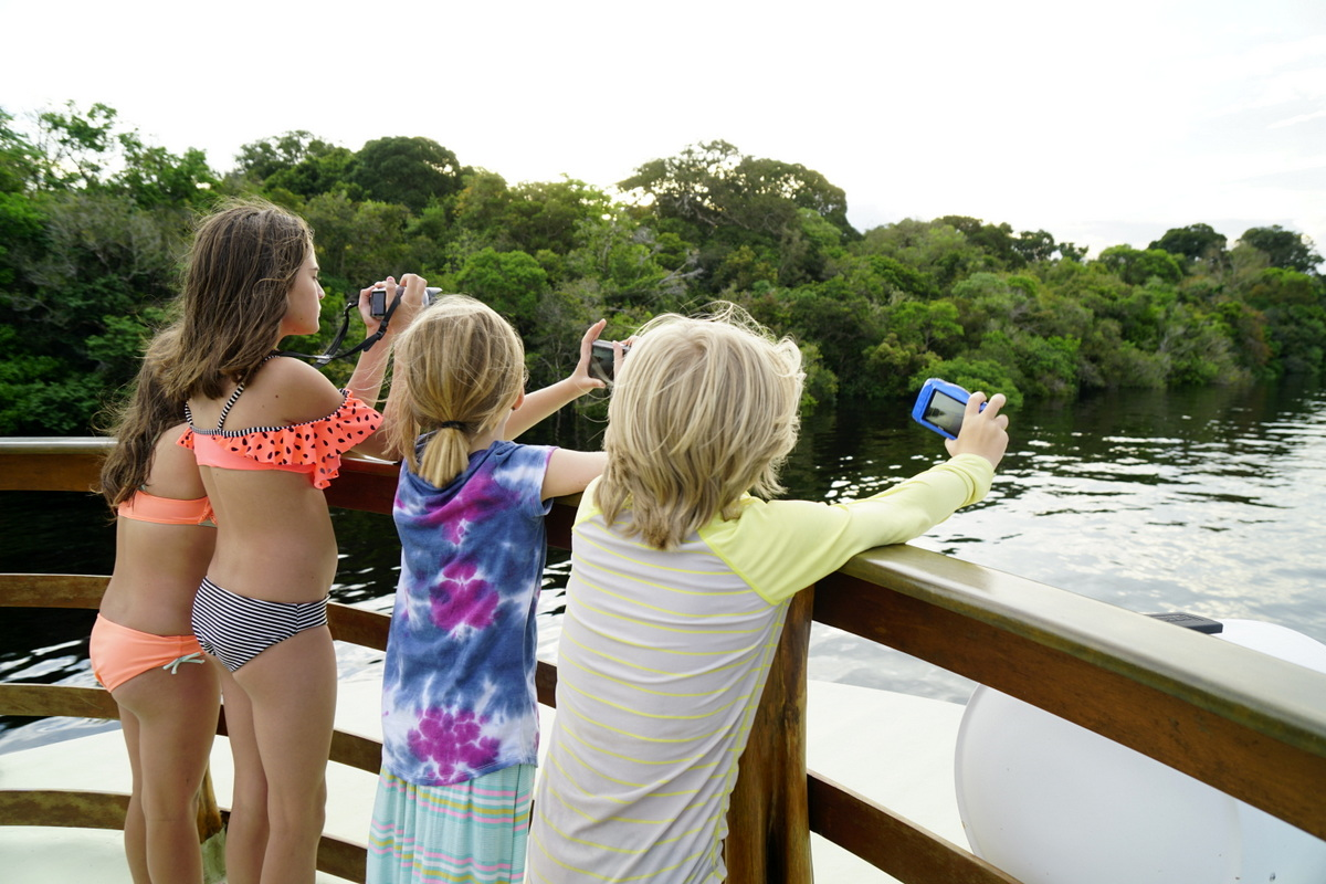 Family travel tours allow only children instant friends!