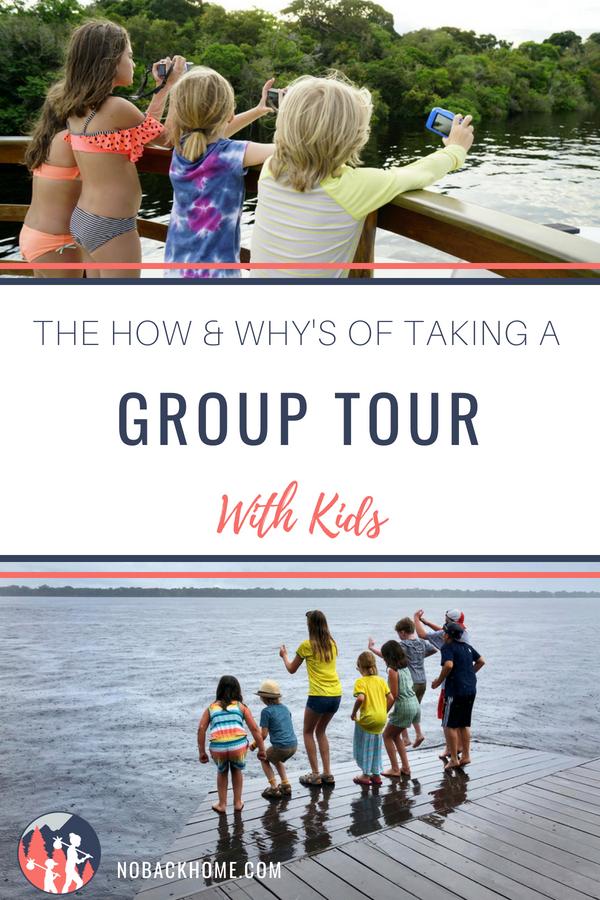Want to travel with your kids but not sure how? Take a family group tour!
