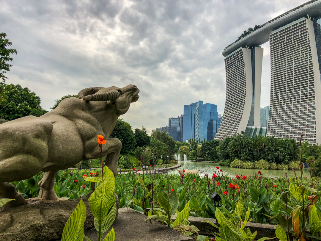 Singapore with kids should include a visit to Gardens by the Bay