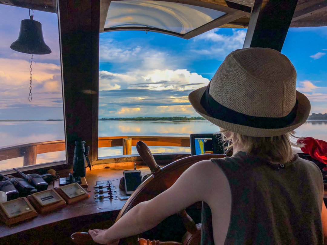 An Amazon River Cruise with kids is a wonderful experience