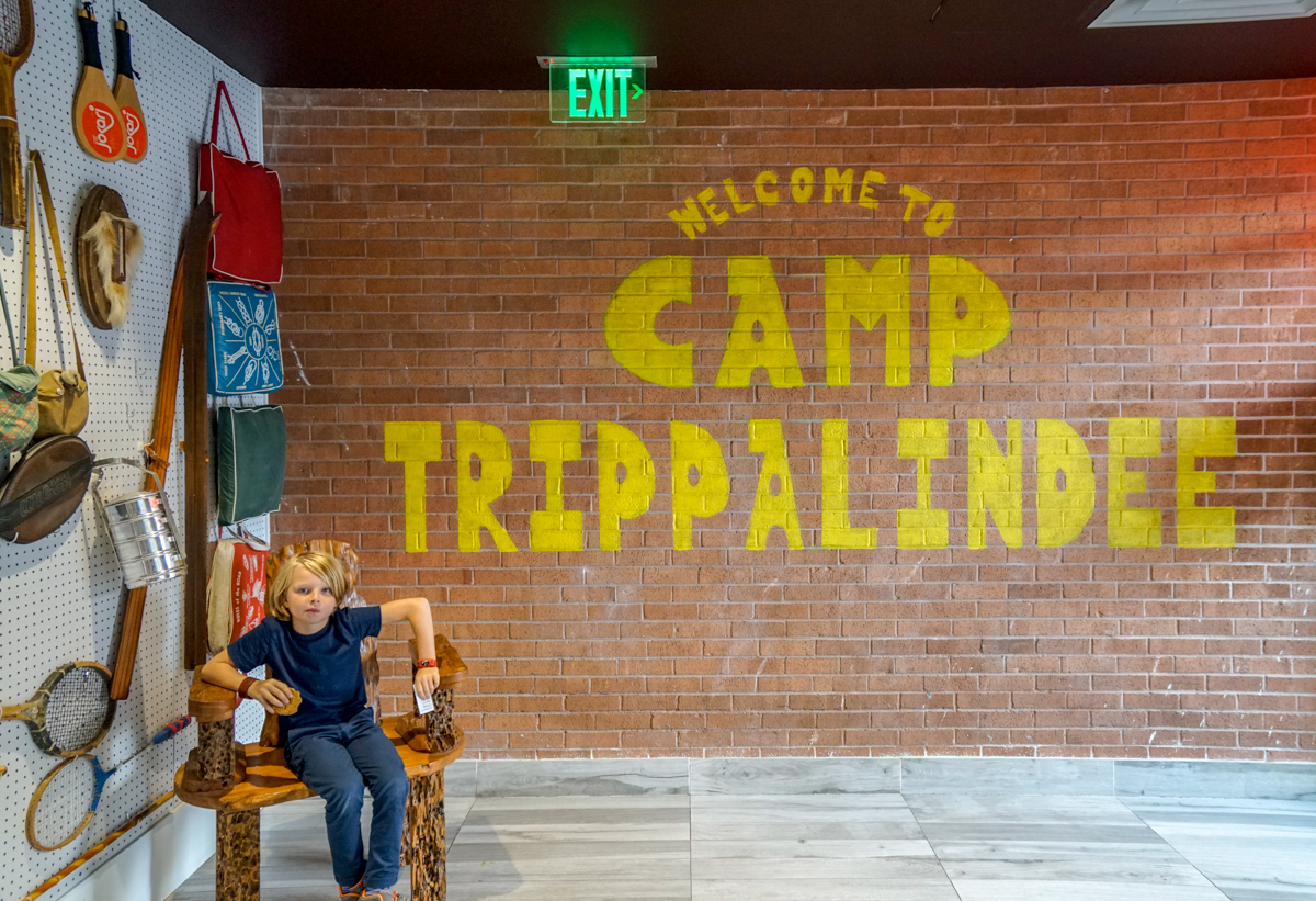 Escape to Summer camp at Camp Trippalindee at the Graduate Hotel Madison