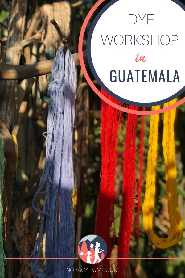 Take a natural dye class in Guatemala at TinteMaya