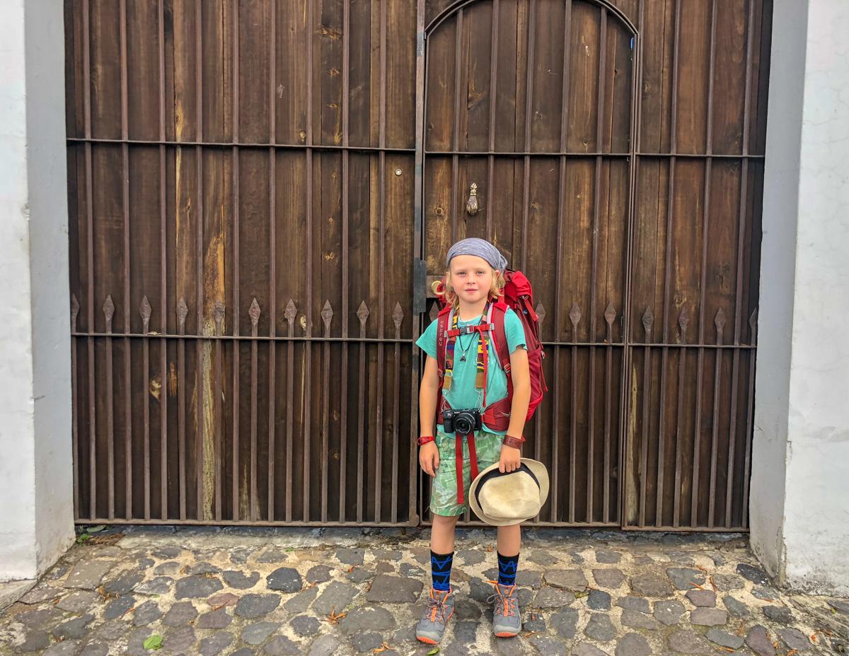 Ready to hike Pacaya Volcano